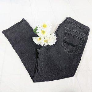 Alfani Slim Fit Stretch Black Jeans Sz 38 x 30